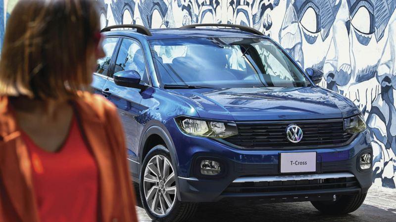 SUV T-Cross 2021 en promoción durante el mes de febrero en Volkswagen México