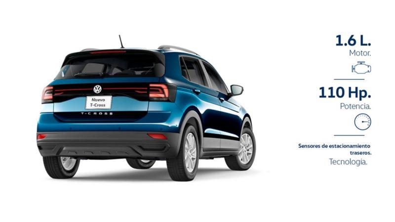 SUV T-Cross VW en promoción de septiembre.