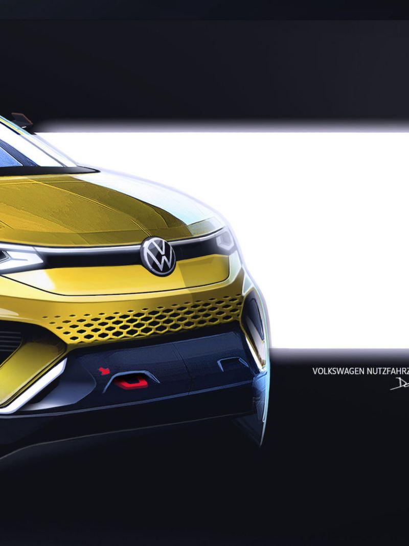 Szkic Volkswagen Caddy 5.