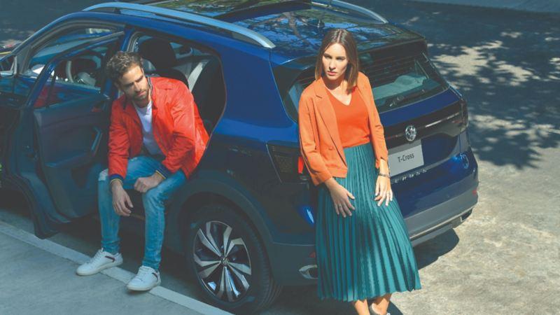 VW T-Cross - SUV juvenil con We Connect Go, motor de 1-6 LTSI y gran potencia