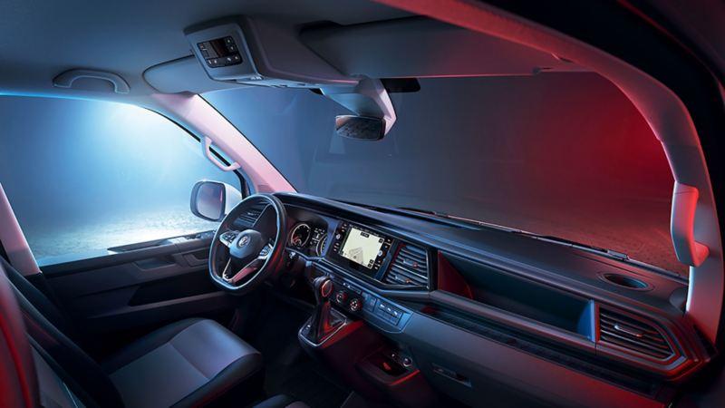 Interiören i nya VW T6.1