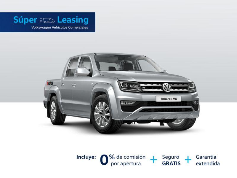 Promoción VW Amarok 2021 super leasing