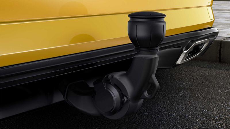 VW Golf, detal hak holowniczy
