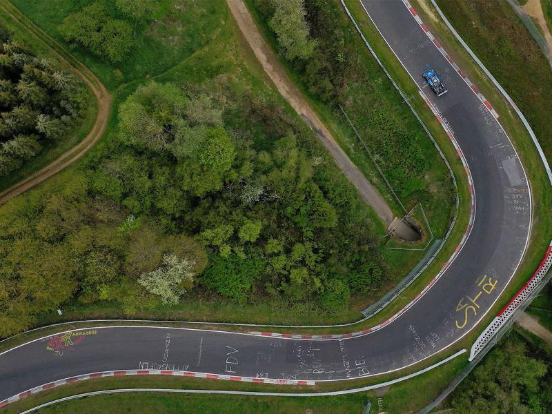 "Il ""record elettrico"" di Volkswagen ID.R sul Nürburgring-Nordschleife 2019"