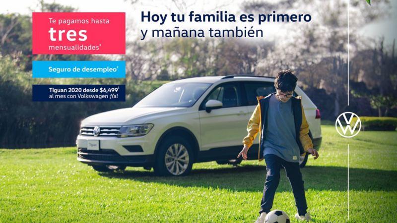 Tiguan 2020, el SUV familiar de Volkswagen en promoción especial con seguro de desempleo