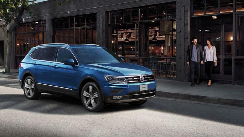 Tiguan 2021 VW - Mejor SUV familiar con 7 velocidades, seguridad y espacio interior amplio