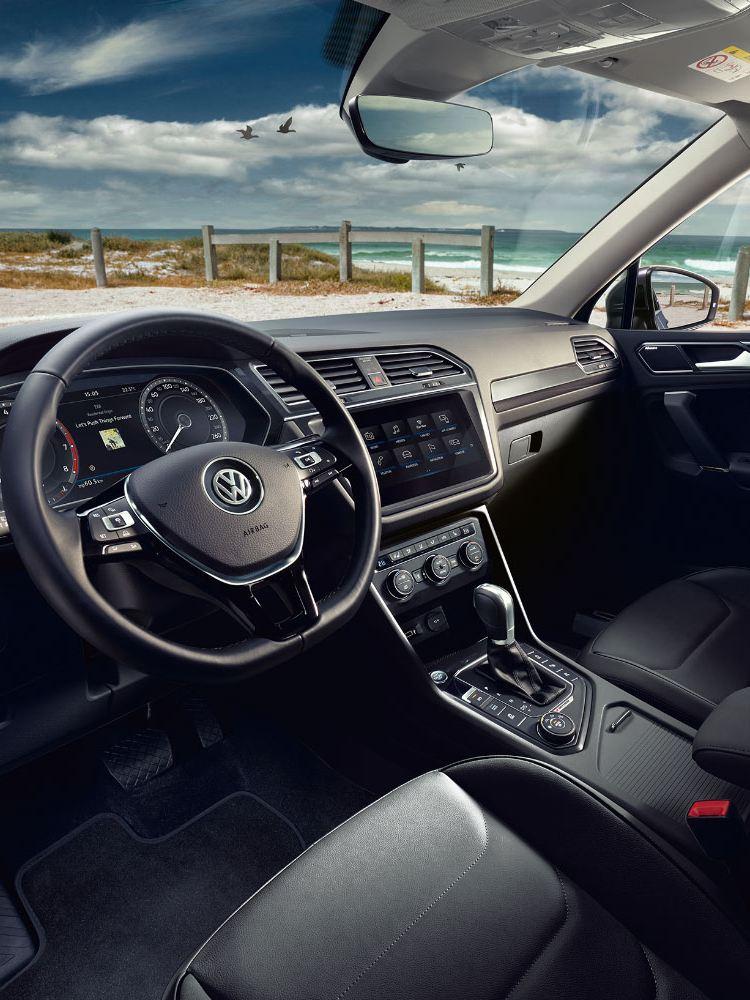 VW Tiguan Allspace interior