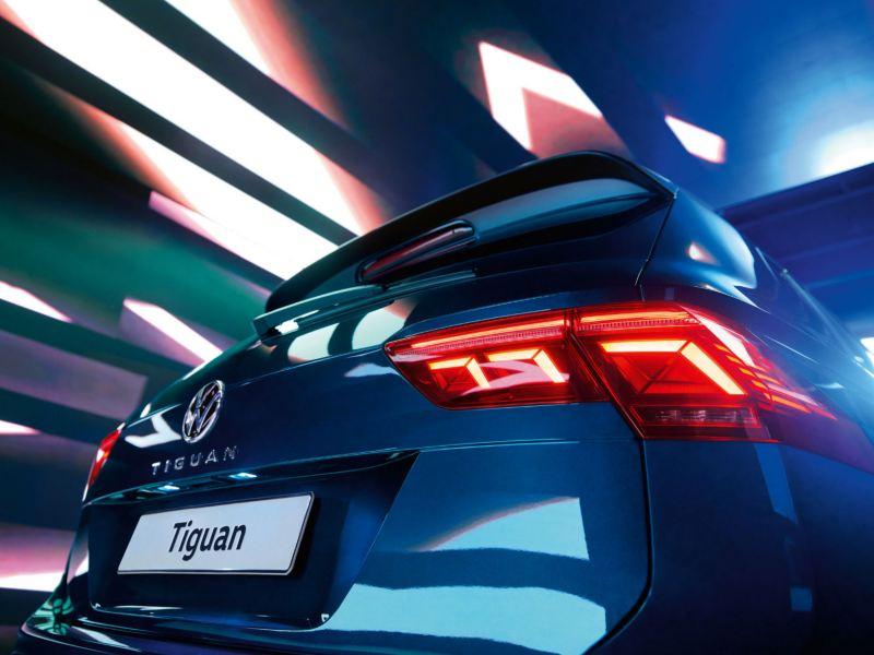 New tiguan rear lights