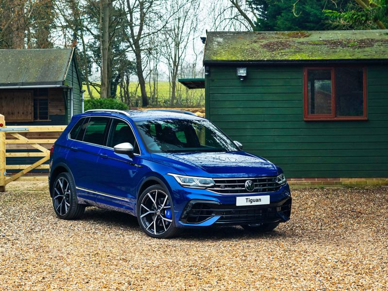 A photo of the new Tiguan