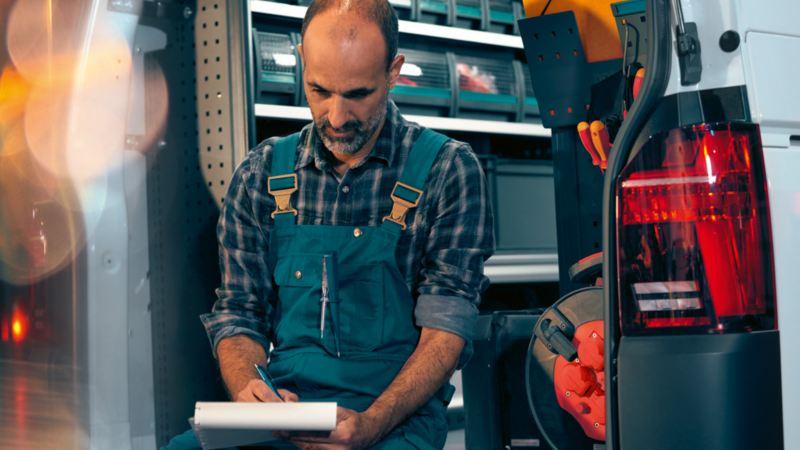vw Volkswagen Caddy Transporter Crafter e-Crafter varebilinnredning bilinnredning serviceinnredning Sortimo Würth Loyds Smartfloor