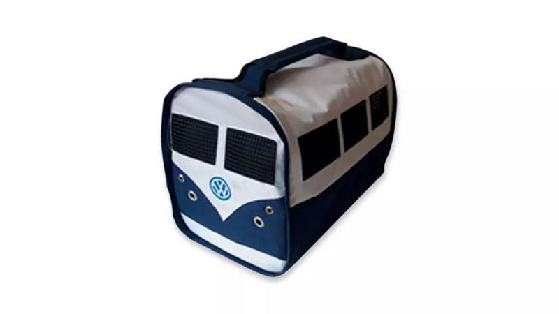 Accesorio Volkswagen Collection para trasladar mascotas de forma cómoda dentro de tu automóvil durante viajes largos