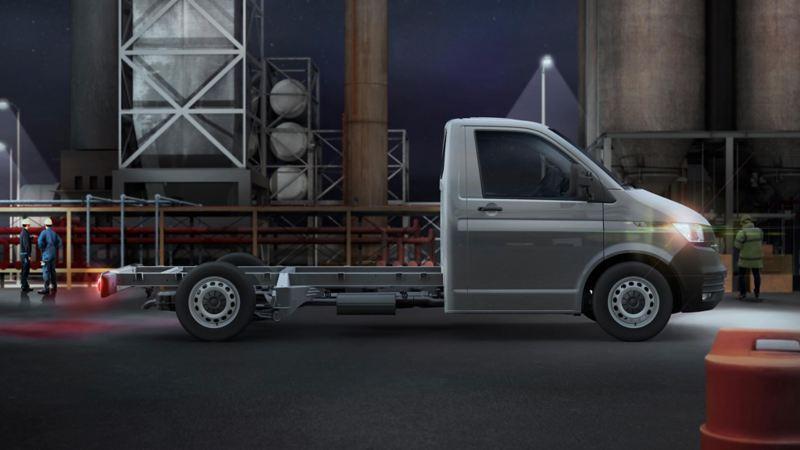 Nuevo Volkswagen Transporter 6.1 vista lateral