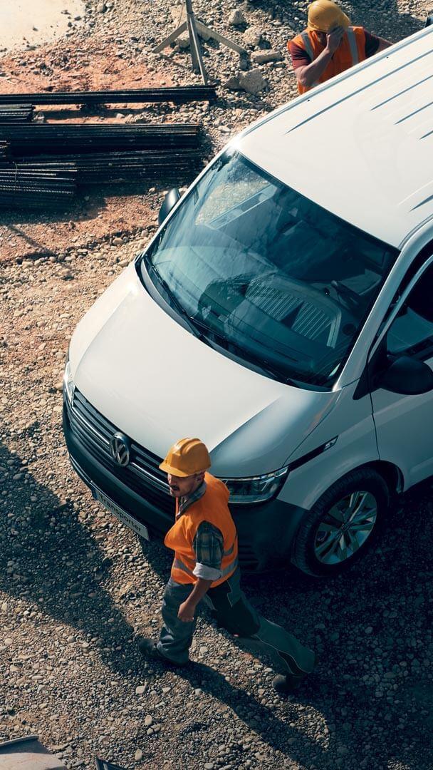 VW Transporter 6.1 Pasajeros zona de construcción