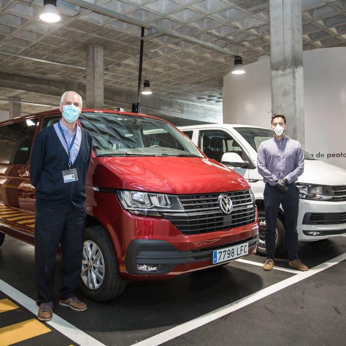 Volkswagen Comerciales Servicio Canario de la Salud