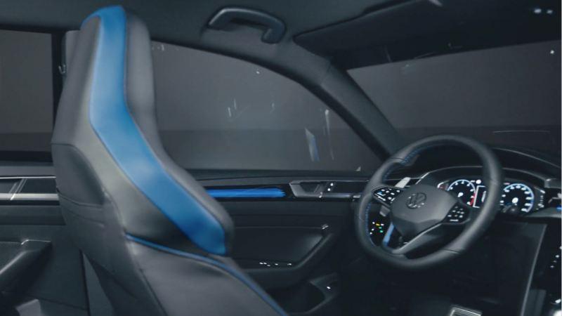 Vista interior del puesto de conducción del Nuevo Volkswagen Arteon R