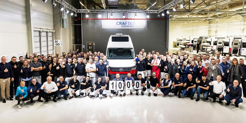 Vi firar: Tusen levererade VW Grand California