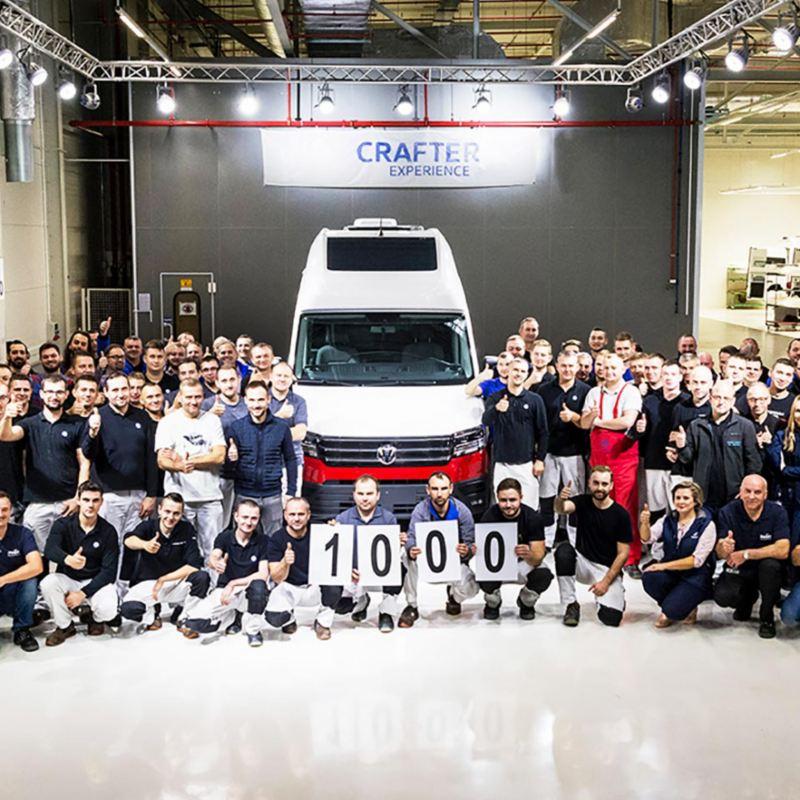 1 000 Volkswagen Grand California levererade