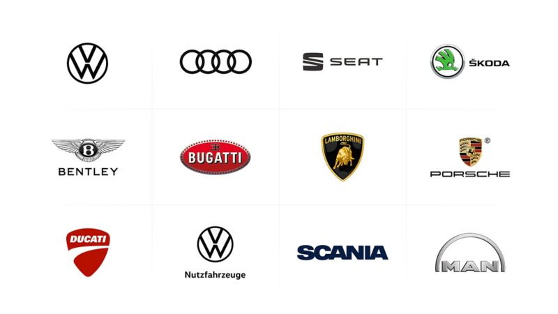 VW Group brands