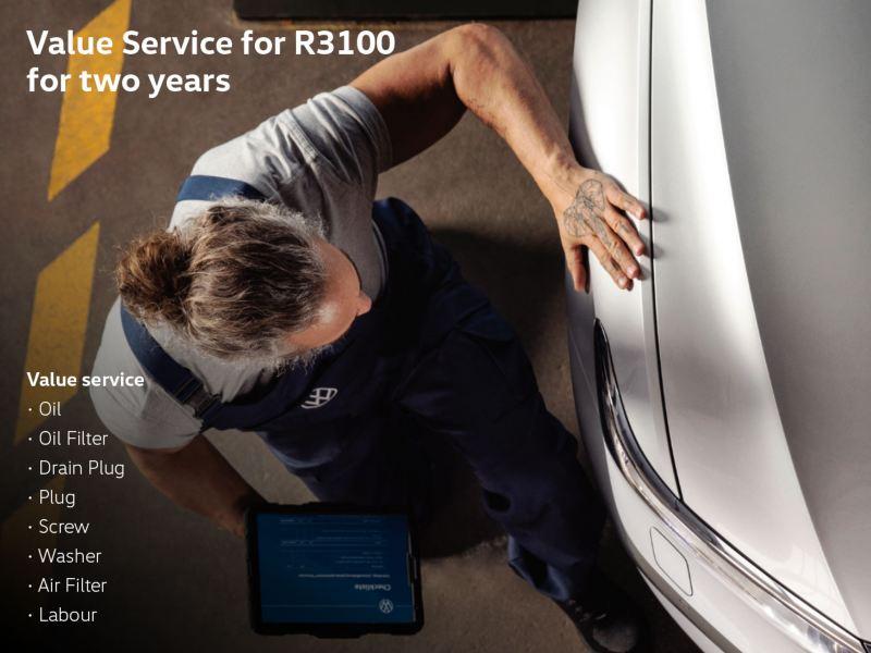 volkswagen value service special offers