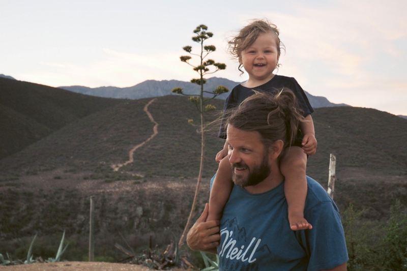 Floyd och Willow i Sydafrika