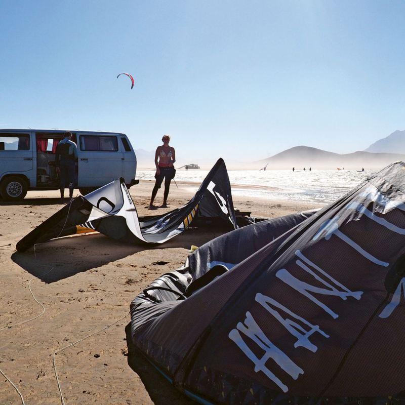 Vanlife i Sydafrika med folkabuss