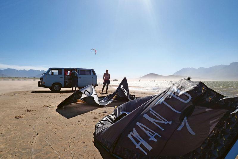Vanlife och surfing i Sydafrika