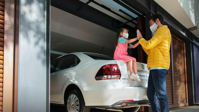 Compra un auto sedán Vento 2020 con las promociones en autos Volkswagen  en Agosto