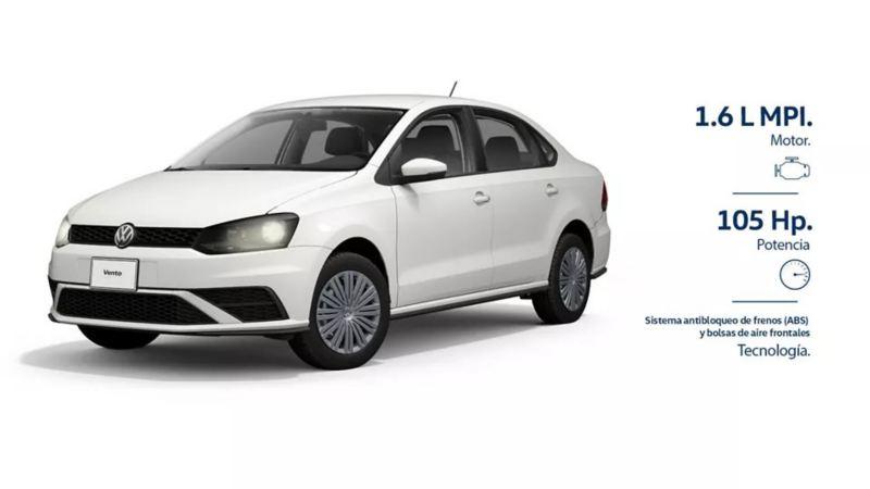 Estrena un Vento 2020 con las promociones de autos VW de septiembre