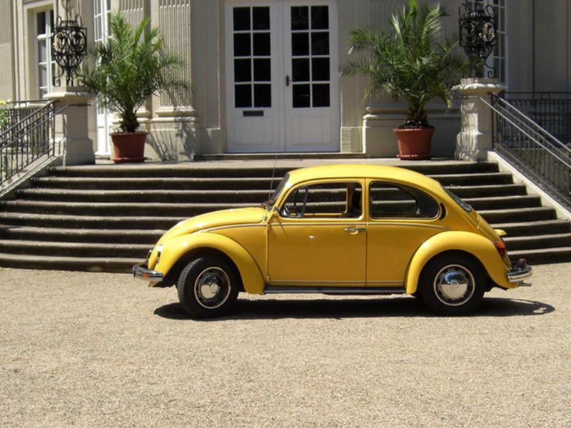 Origen del juego de Vocho amarillo de Volkswagen - Cómo se creó y de dónde viene.
