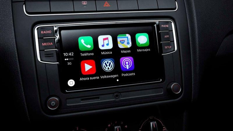 Volkswagen App-Connect presente en Polo 2020 de Volkswagen el sistema para controlar tus aplicaciones y GPS