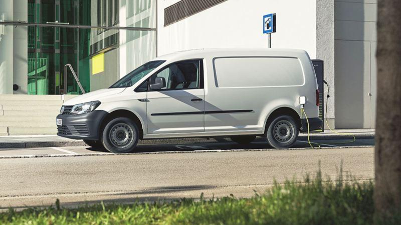 Volkswagen e-Caddy laddar