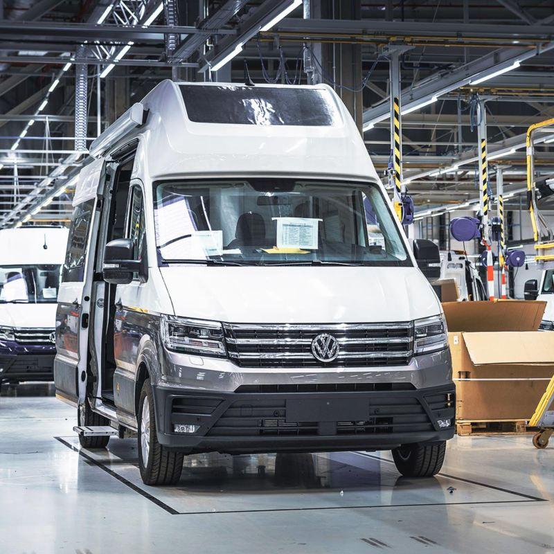 Volkswagen Grand California byggs i fabriken i polska Września