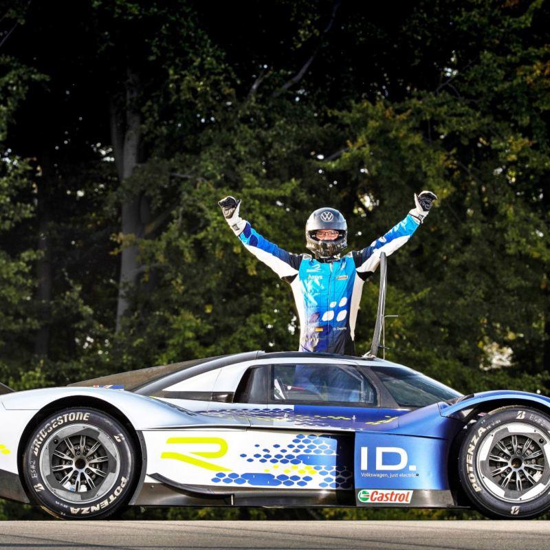 Volkswagen ID.R - El auto eléctrico deportivo que rompió nuevo récord en velocidad