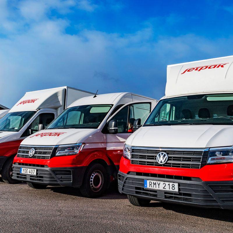 Jetpack har utrustat sin fordonsflotta med Fleet Connect för enklare kontroll över bilarna