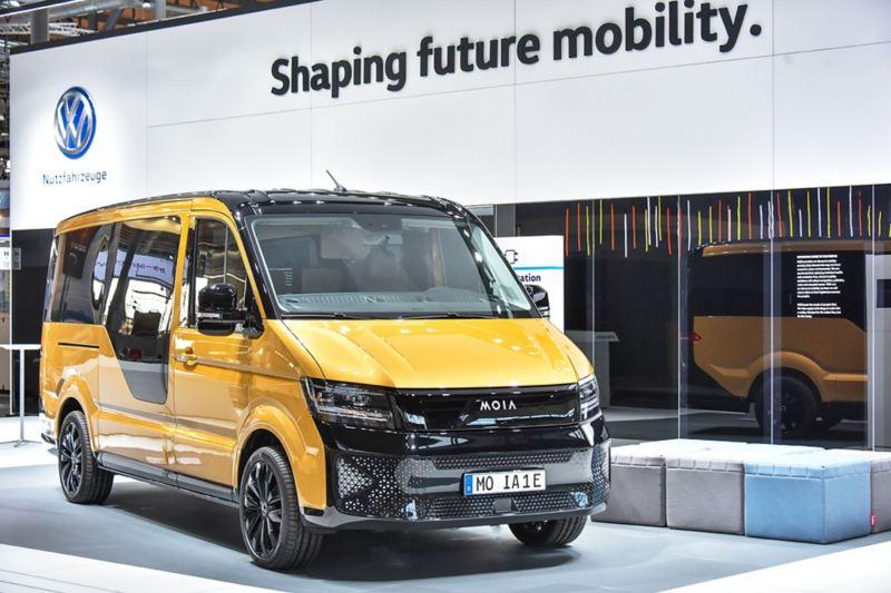Volkswagen Moia, eldriven samåkningsbuss