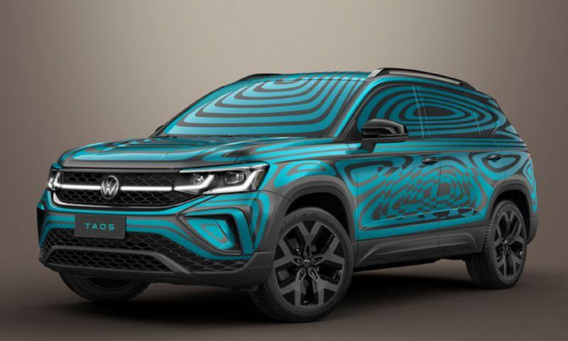 Volkswagen Noticias camuflaje vibrante