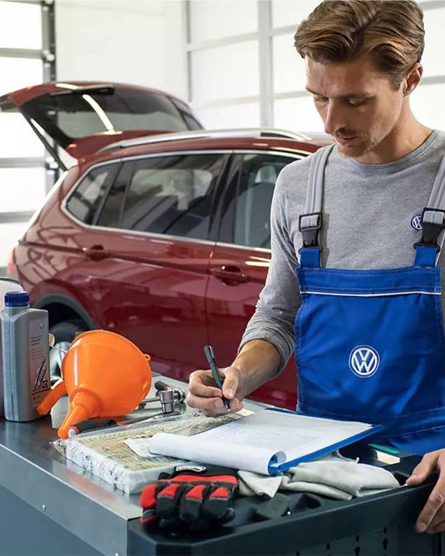 volkswagen diagnostics system