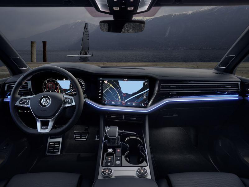 Volkswagen Touareg  iluminacion ambiental