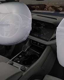 Volkswagen Touareg 10 Airbags