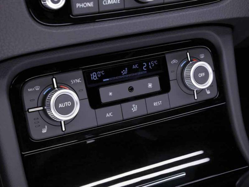 Volkswagen Touareg seleccionar Temperaturas