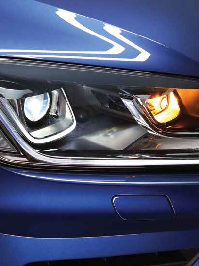 Volkswagen Touareg tecnología LED