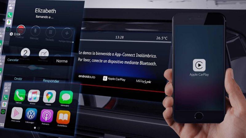 Imagen de Wireless App Connect de VW, enlaza tu móvil sin necesidad de cables