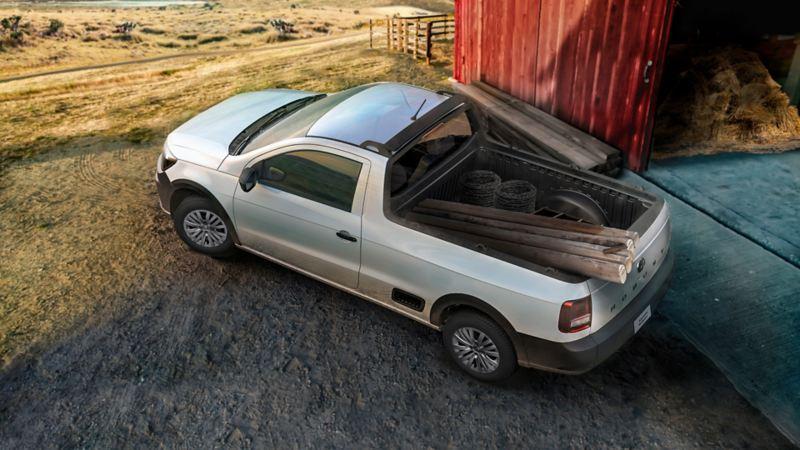 Saveiro, camioneta pickup a precio increíble durante abril con ofertas Volkswagen