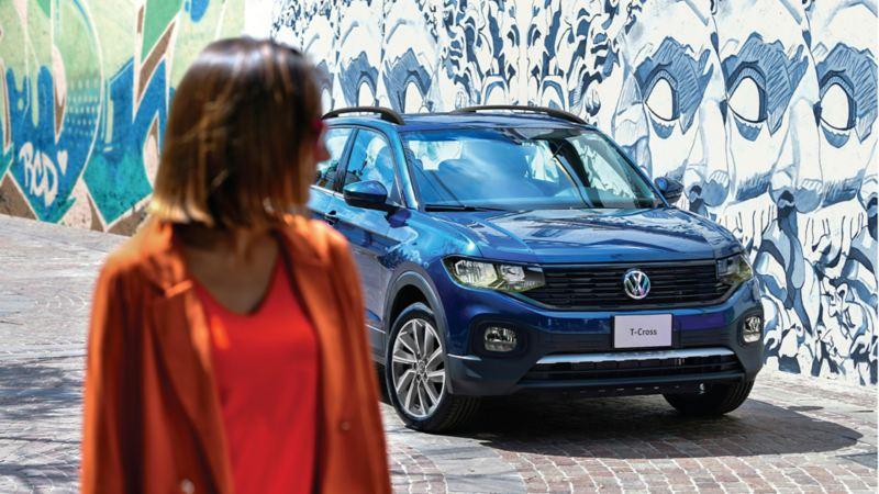 SUV T-Cross 2021 en promoción durante el mes de abril en Volkswagen México