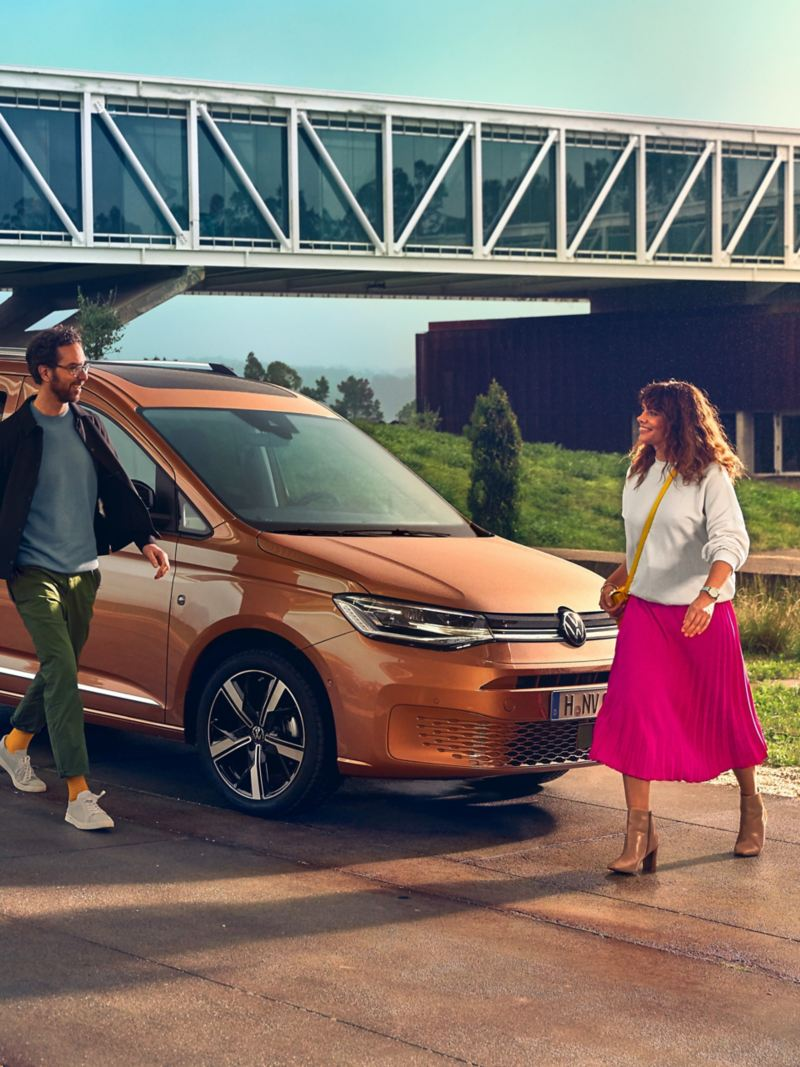 Der neue Volkswagen Caddy als Familienauto.