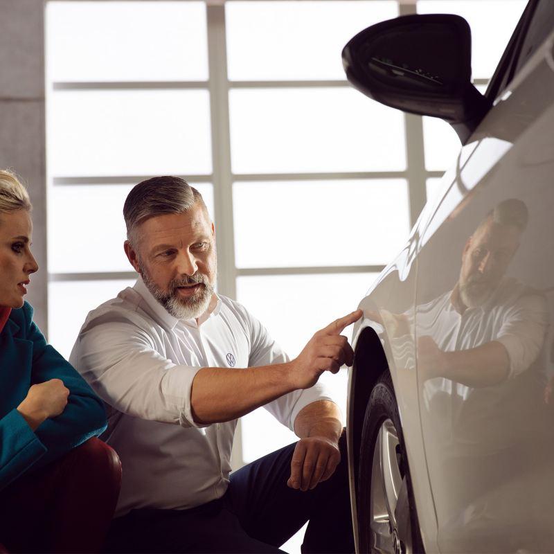 Servicios para mantenimiento de Carrocería y Pintura Volkswagen - Conserva impecable el exterior de tu automóvil