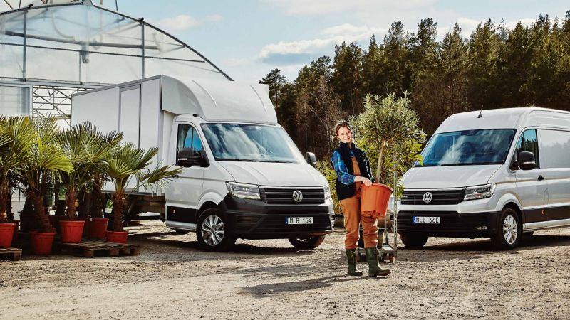 VW Crafter lätt lastbil och Crafter VolyMax