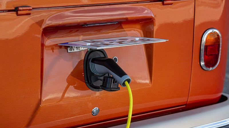 Snabbladda Volkswagen e-BULLI med CSS