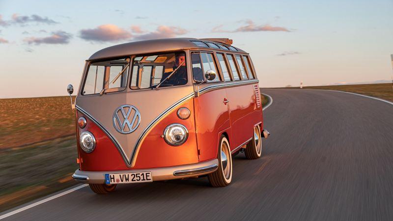 VW e-BULLI elbil folkabuss