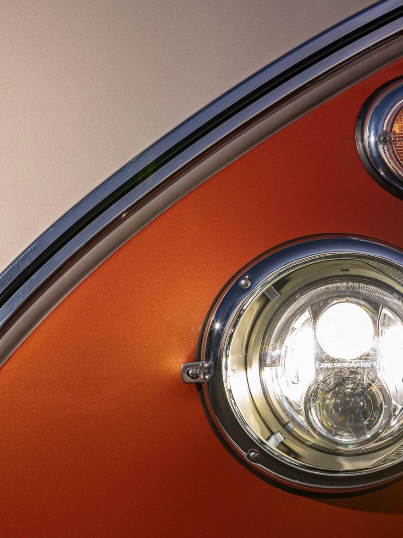 VW e-BULLI elbil i närbild